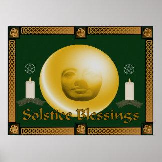 Bendiciones del solsticio impresiones