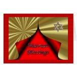 Bendiciones hebreas judías de Shavuot del día de f Felicitación