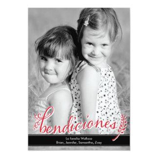 Bendiciones Holiday Photo Cards