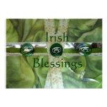 Bendiciones irlandesas que casan invitaciones comunicados personales
