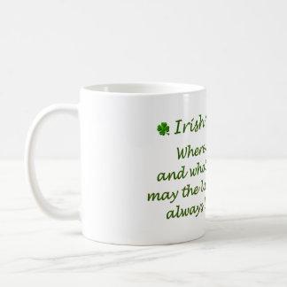 Bendiciones irlandesas - taza de café