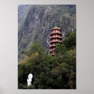 Bendiciones/parque nacional de la garganta de Taro Póster