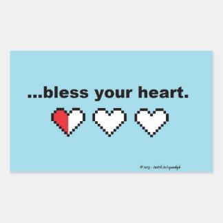 Bendiga a su pegatina del corazón