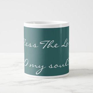 Bendiga la taza del señor café taza extra grande