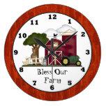 Bendiga nuestro reloj de pared de la granja