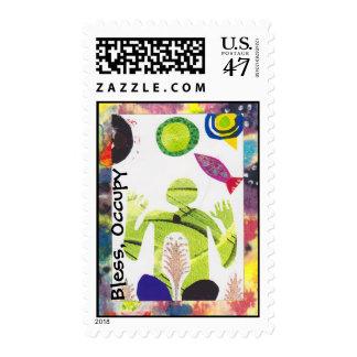 Bendiga, ocupe timbre postal