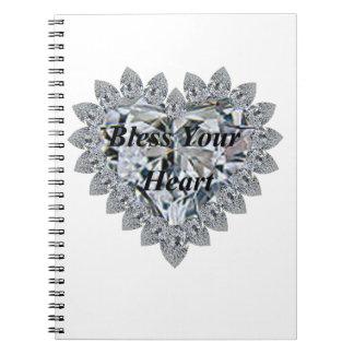 Bendiga su corazón notebook