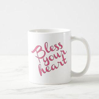Bendiga su corazón tazas de café