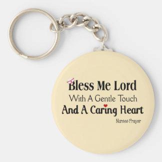 Bendígame señor Nurses Prayer Llaveros