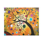Bending Branches BY LORI EVERETT Wrapped Canvas Canvas Print
