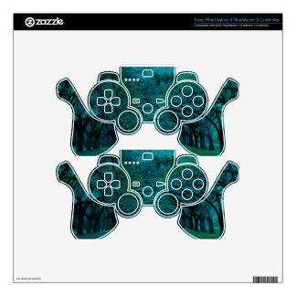 BENDING TREES - ULTRA BLUE PS3 CONTROLLER SKINS