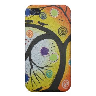 Bending Wood By Lori Everett iPhone 4 Cases