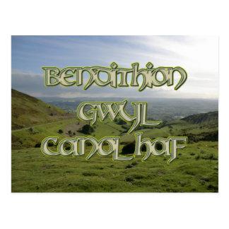 Bendithion Gwyl Canol Haf en Foel y Mamau Postal