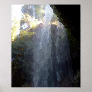 Beneath a Silver Falls Poster