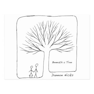 Beneath a Tree Cover Postcard