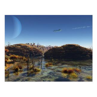 Beneath Alien Skies Postcard