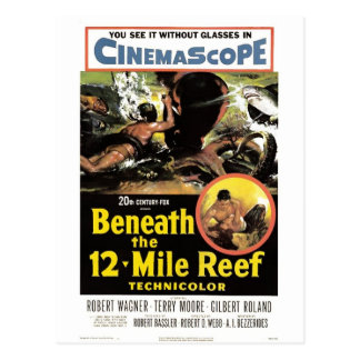 """Beneath the 12 Mile Reef""  Postcard"