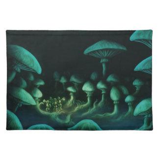 beneath the earth fantasy scifi landscape placemat