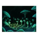 beneath the earth scifi fantasy art postcard