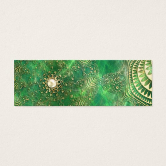 Beneath the Emerald Sea Bookmarks Mini Business Card