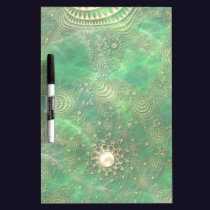 Beneath the Emerald Sea Dry Erase Board