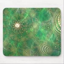 Beneath the Emerald Sea Mousepad