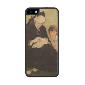 Beneath the Lilac at Maurecourt, 1874 Carved® Maple iPhone 5 Case