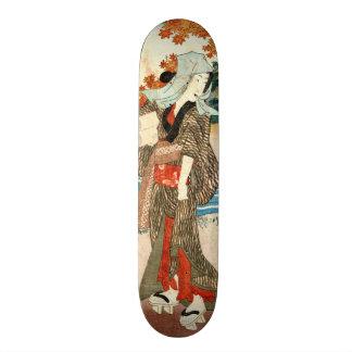 Beneath the Maples 1854 Skate Board