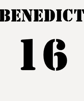 Benedict 16 t shirts