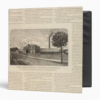 Benedict and Burnham Manfacturing Company Vinyl Binders