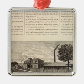 Benedict and Burnham Manfacturing Company Christmas Tree Ornament