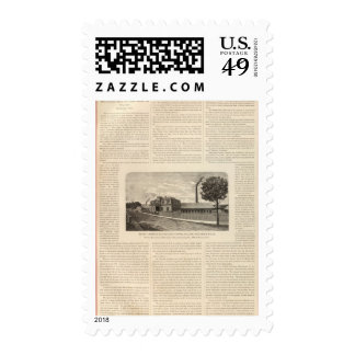 Benedict and Burnham Manfacturing Company Postage Stamps