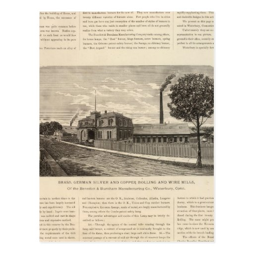 Benedict and Burnham Manfacturing Company Postcard