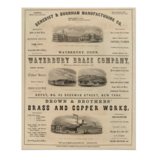 Benedict and Burnham Manufacturing Company Poster