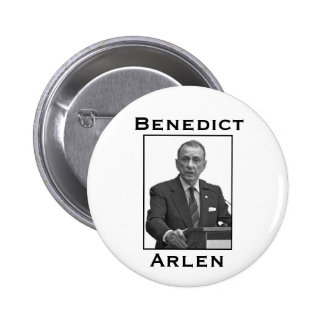 Benedict Arlen Pinback Button