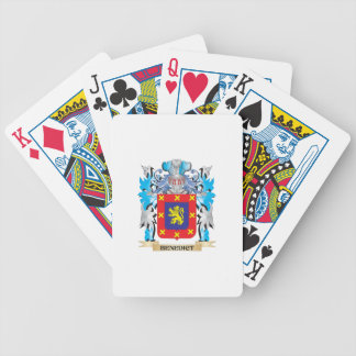 Benedict Coat of Arms Playing Cards