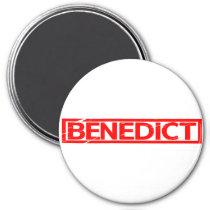 Benedict Stamp Magnet