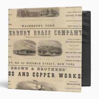 """Benedict y Burnham Manufacturing Company Carpeta 1 1/2"""""""