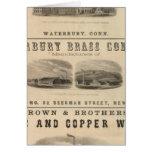 Benedict y Burnham Manufacturing Company Tarjeta