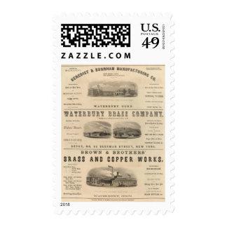 Benedict y Burnham Manufacturing Company Timbres Postales