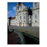 Benedictine Abbey, Abbey Einsiedein, Switzerland Postcards