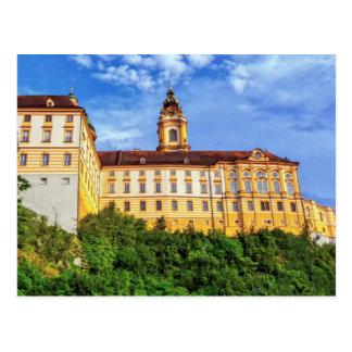 Benedictine abbey, Melk, Austria Postcard
