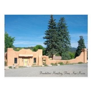 Benedictine Monastery in Pecos, New Mexico Postcard