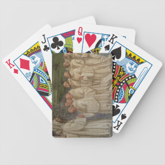 Benedictine Monks, from the Life of St. Benedict ( Bicycle Playing Cards