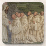 Benedictine Monks, from the Life of St. Benedict ( Beverage Coasters