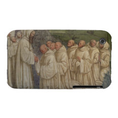 Benedictine Monks, from the Life of St. Benedict ( iPhone 3 Case at Zazzle