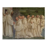 Benedictine Monks, from the Life of St. Benedict ( Postcard