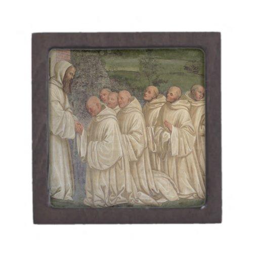 Benedictine Monks, from the Life of St. Benedict ( Premium Jewelry Boxes