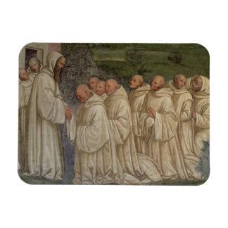 Benedictine Monks, from the Life of St. Benedict ( Rectangular Photo Magnet