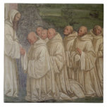 Benedictine Monks, from the Life of St. Benedict ( Ceramic Tiles